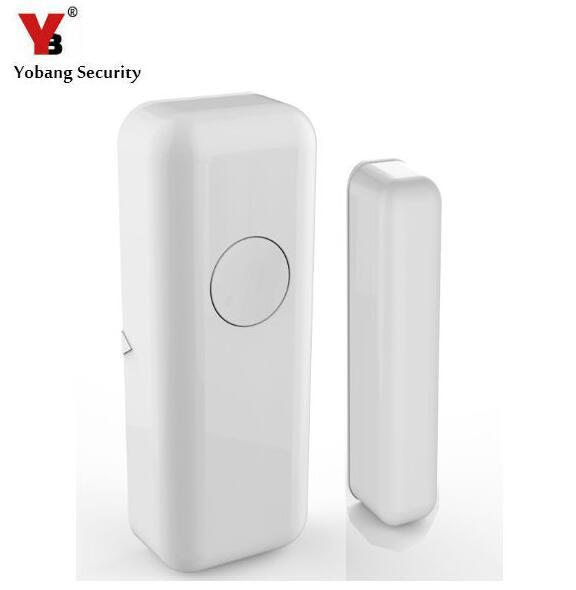Yobang Security 433Mhz Wireless Home Alarm Window/Door Sensor Door Detector Open Door Alarm For YB103 Alarm Panel