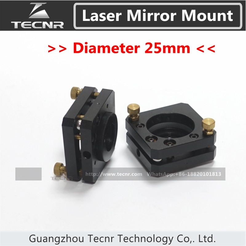 high quality CO2 laser mirror mount 25MM diameter reflection mirrors