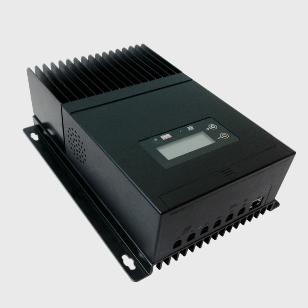 60A MPPT солнечных панелей контроллера заряда, регулятор для DC12V 24 В 48 В солнечные решетки система питания