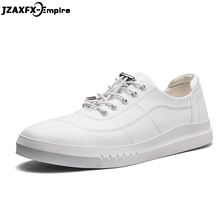 New Arrival Men White Flat Shoes Elastic Band zapatillas hombre Comfortable Footwear For men Top Quality