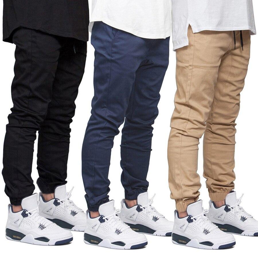 Men Jogger Pants Fashion Hip Hop Casual