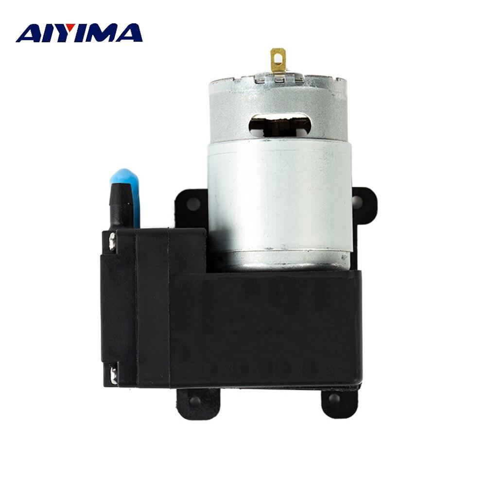 Aiyima Dc12v Micro Vakuumpumpe 8l/min High Pressure High Flow Korrosion Widerstand Gebürstet Elektrische Hohe Vakuum Dc Pumpen Heimwerker Pumpen