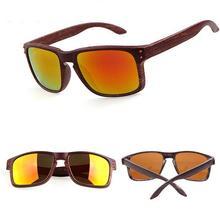 G22 Vintage Wood color Sunglasses Men Fashion Brand Designer Square Sun Glasses Gafas de sol oculos Woman glass