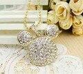 Melhor qualidade de Cristal cabeça de rato pingente de diamante jóias 16 GB 32 GB USB 2.0 flash drive usb Memory Stick Pendrive Thumb/Carro/S342