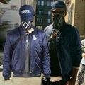 Ver Perros 2 Traje Marcus Holloway Cosplay Traje Azul Chaqueta Hombres Adultos Traje de Juego Disfraces De Halloween Party Outfit Personalizar