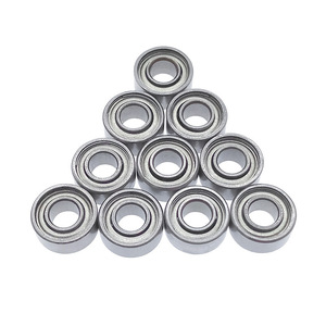 10pcs/set 684ZZ Miniature bearing 4*9*4 mm ball bearings motor quadcopter carbon steel for fidget spinner(China)