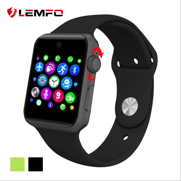 2016 Bluetooth Smart Watch Sync Notifier support Sim Card sport font b smartwatch b font For