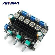 Aiyima TPA3116D2 сабвуфер усилитель доска HIFI Цифровой 2.1 канальный усилитель 10-25 В