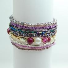 Bohemia Multi layers  Crystal Bracelet
