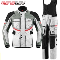 MOTOBOY Professional Men S Waterproof Motorcycle Motocross Off Road Racing Jacket Body Armor Riding Pants Clothing