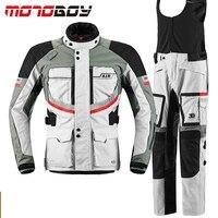 MOTOBOY Professional Men S Waterproof Motorcycle Motocross Off Road Racing Jacket Body Armor Riding Pants Clothing