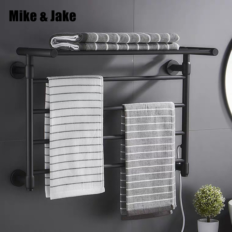 Intelligent Thermostatic Electric Heating Towel Rack Carbon Fiber Heating Household Towel Rack Warm Towel Shelf