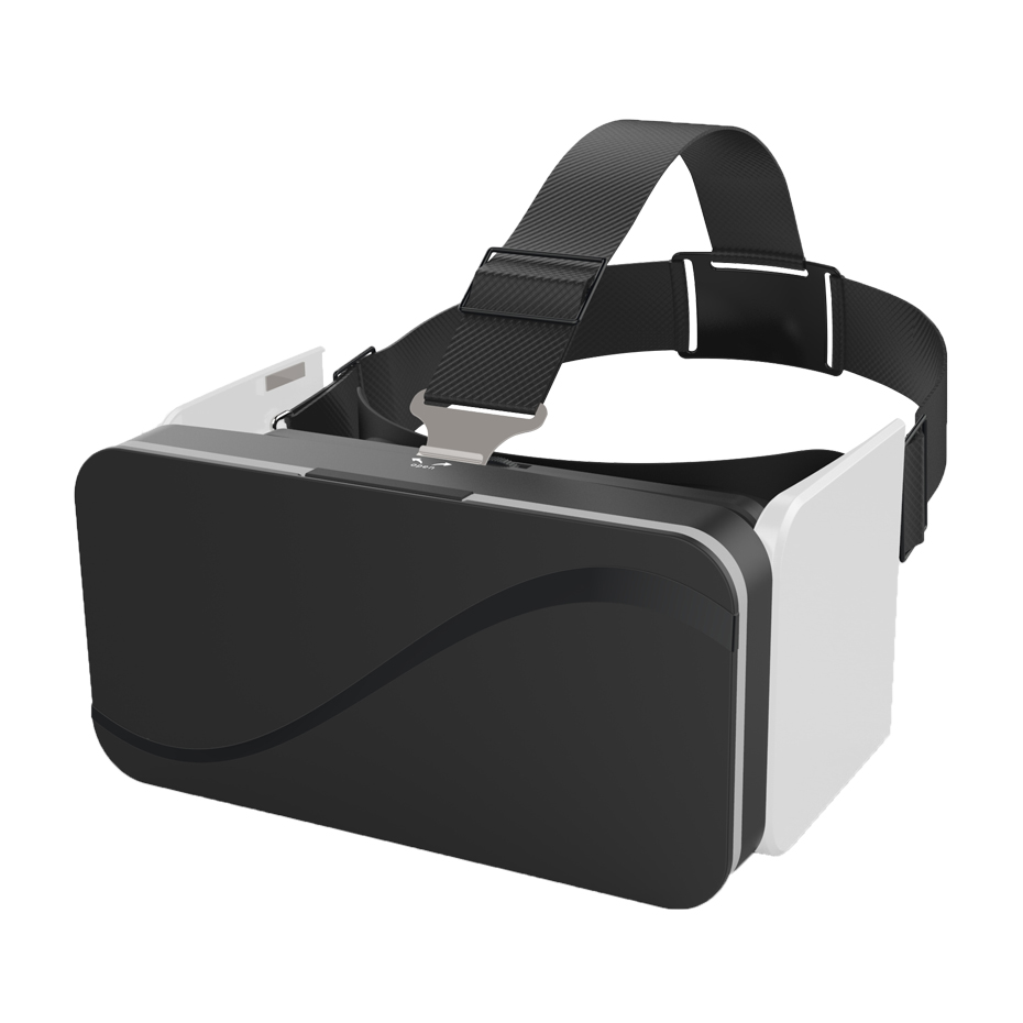 VR Headset 3D Glasses Virtual Reality Goggles Google Cardboard Fold VR Smartphone Headset for Iphone Android 4.7-6.0 Phone