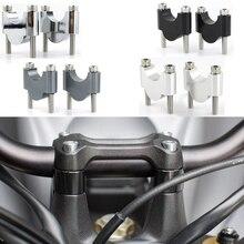 7/8 22mm Motorcycle Handlebar Fat Bar Mount Risers For Honda CB400SS CB700 CB750 CB1100 CB550 CB650 CB450 CB250 Twin Scrambler