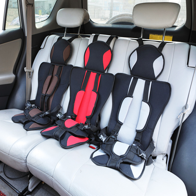 Portable Baby Safety Seat Child Car Seat Cushion Pad Infant Safe Seat Thickening Sponge Kids Car Seats For Boys Girls