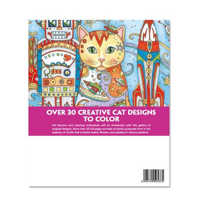 Tienda Online Haven creativo Gatos colorear Libros para adultos 24 ...