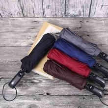 Folding Automatic Umbrella Rain Women Auto Windproof Umbrellas For Men Fashion Parasol Portable Travel
