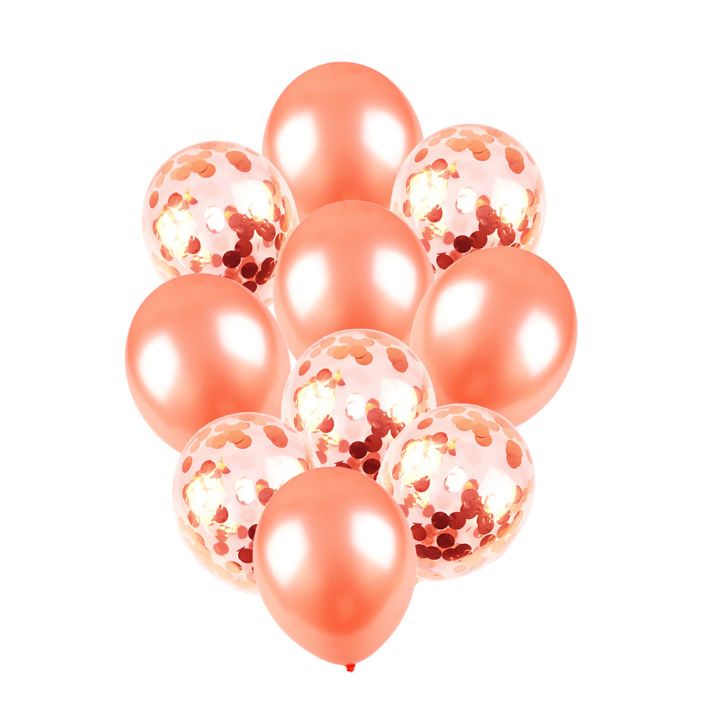 Rose Gold Foil Balloons Star Heart Wedding Party Decor Party Ballon for Pink Girl Boy Birthday Party Decorations Celebration in Ballons Accessories from Home Garden