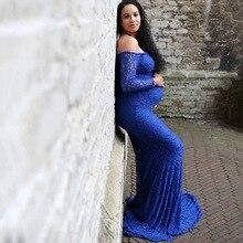 Fashion Maternity Dress for Photo Shoot