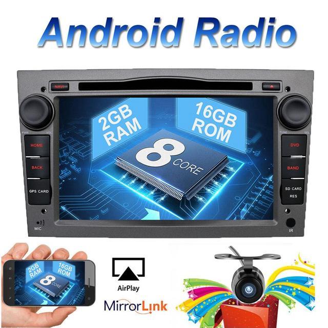 2 din Octa Core Android 8.1 Auto band recorder GPS DVD Player Für Opel Astra H Vectra Corsa Zafira B C G unterstützung OBD2