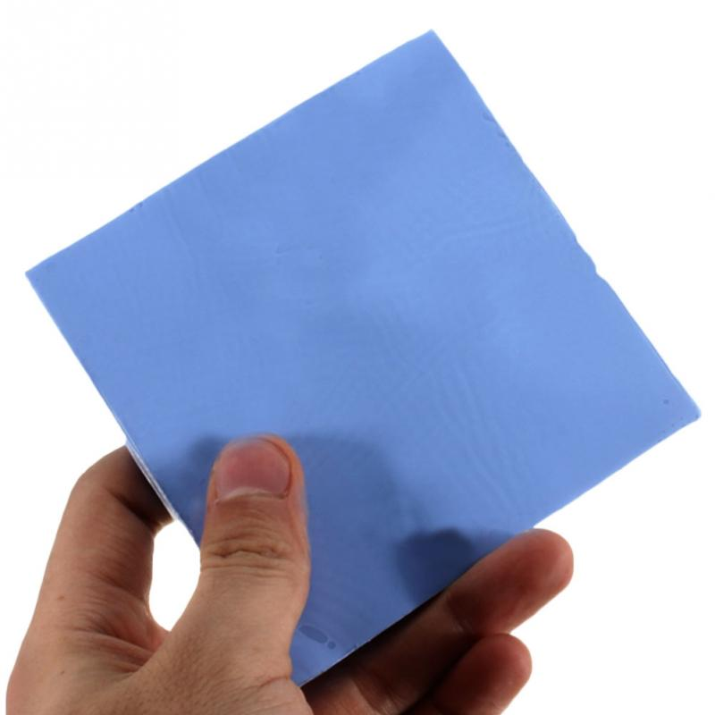 2018 promotion low price New GPU CPU Heatsink Cooling Conductive Silicone Pad 100mm*100mm*1mm Thermal Pad high quality 100mm 100mm 1mm soft silicone thermal pad thermal pads heat conductive for heatsink laptop ic chipset chip vga gpu gap