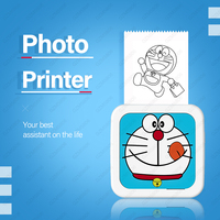 Mini Bluetooth Portable Photo Printer Gift Mini Mobile Photo Printer Rechargeable Battery Personal FREE App iOS Android phone