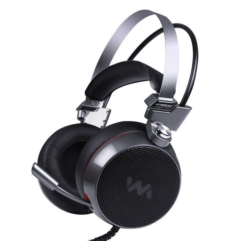 FBUANG 9300 Pro Gaming Headset 7.1 Surround Sound channel USB Wired Headphone with Mic Vibrating Function for Gamer sades a6 usb 7 1 surround sound stereo gaming headset headband over ear headphone with mic volume control led light for pc gamer