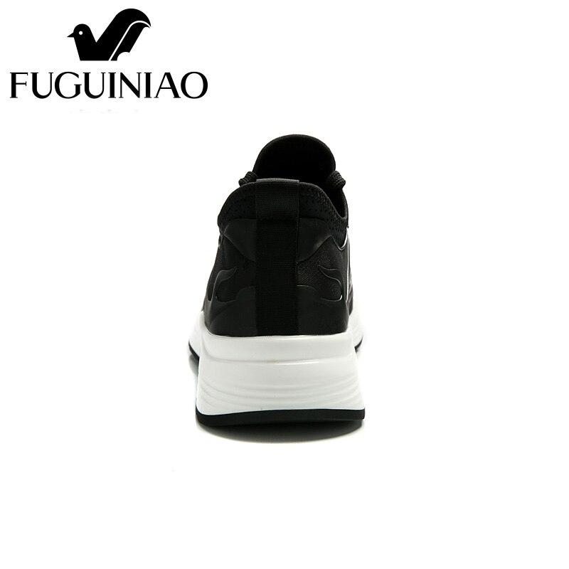 Malla navy Hombres Casual Ocio Aire Libre Vestido Masculino De Sneakers Plataforma Nuevo Sapato Calzado Diseño Zapatos Al Hombre Black Moda Hqw14nBWpY