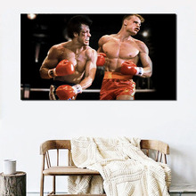 Rocky Balboa Slvyester Stallone Wall Art Canvas Poster And Print Canvas Painting Oil Decorative Picture For Bedroom Home Decor