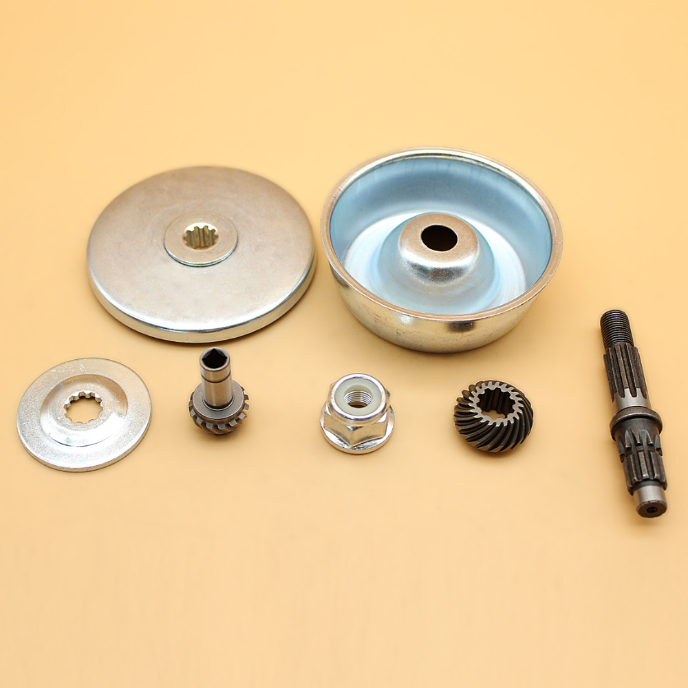 Trimmer Gearbox Working Head Drive Shaft Washer Rebuild Kit For STIHL FS44 FS55 FS72 FS74 FS75 FS76 FS80 FS85 FS90 FS100 FS110 mayirt gear box head for fs130 fs120 fs110 fs100 fs90 fs85 fs80 trimmer brushcutter lawn mover parts new