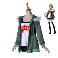 Athemis Game Cosplay Costumes Anne Takamaki Persona 5 Leader Cosplay Costume Custom Made Size