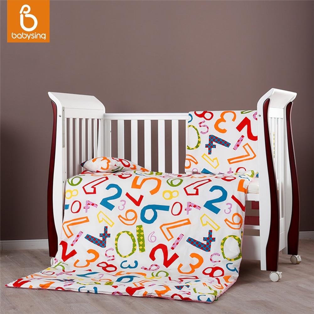 Cot Bed Pillowcase And Duvet Set