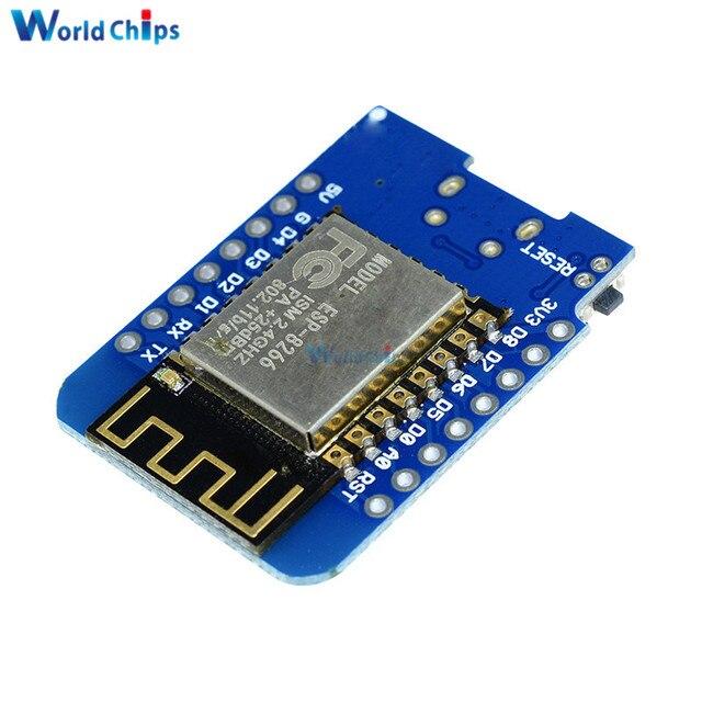 ESP8266 ESP-12 ESP12 WeMos D1 Mini Module Wemos D1 Mini WiFi Development Board Micro USB 3.3V Based On ESP-8266EX 11 Digital Pin