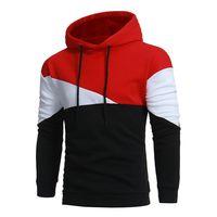 Brand 2017 Hoodie Simple Stitching Hoodies Men Fashion Tracksuit Male Sweatshirt Off White Hoody Mens Purpose