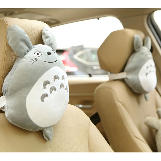 1 PAIR 25*30CM CAR SEAT NECK PILLOW