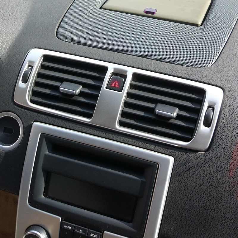 ステンレス鋼中央ダッシュエアコン AC ベント制御のためにトリムボルボ C30 S40 V50 C70