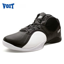 VOIT High-Top Original Basketball Shoes Breathable Outdoor Sneakers Best Quality Wavy Grip Wear Non-slip Traning Shoes 51M6005