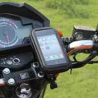 Support de téléphone pour Moto Support téléphonique pour Support de Moto sac pour Iphone X 8 Plus SE S9 GPS Support de vélo housse étanche