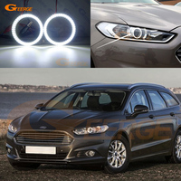 For Ford Mondeo Fusion 2013 2014 smd led Angel Eyes kit Day Light Excellent Ultra bright illumination DRL