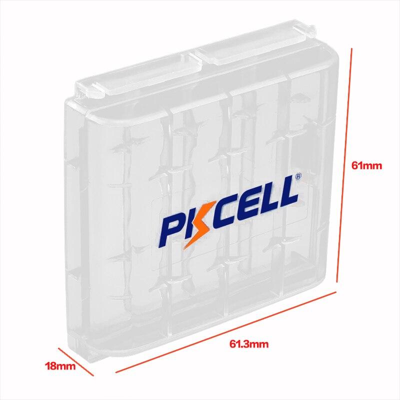 8 шт. PKCELL aa батарея Супер сверхмощный AA R6P UM3 MN1500 E91 1,5 в первичные Упакованные батареи с 2 шт. батарейный блок