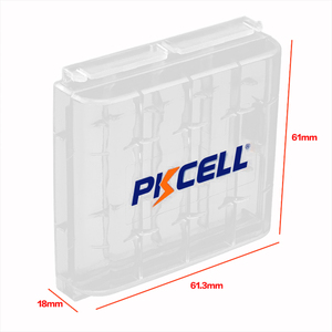 Image 3 - 8Pcs PKCELL aa Battery Super Heavy Duty AA R6P UM3 MN1500 E91 1.5v Primary Batteries Packed With 2Piece Battery Box