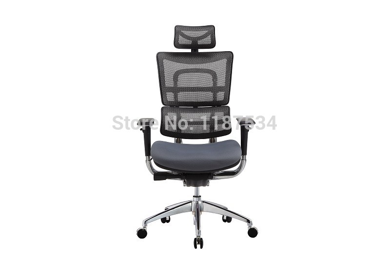 JNS801YK Mesh and fabric office chair executive swivel chair with headrest office chair 240337 ergonomic chair quality pu wheel household office chair computer chair 3d thick cushion high breathable mesh