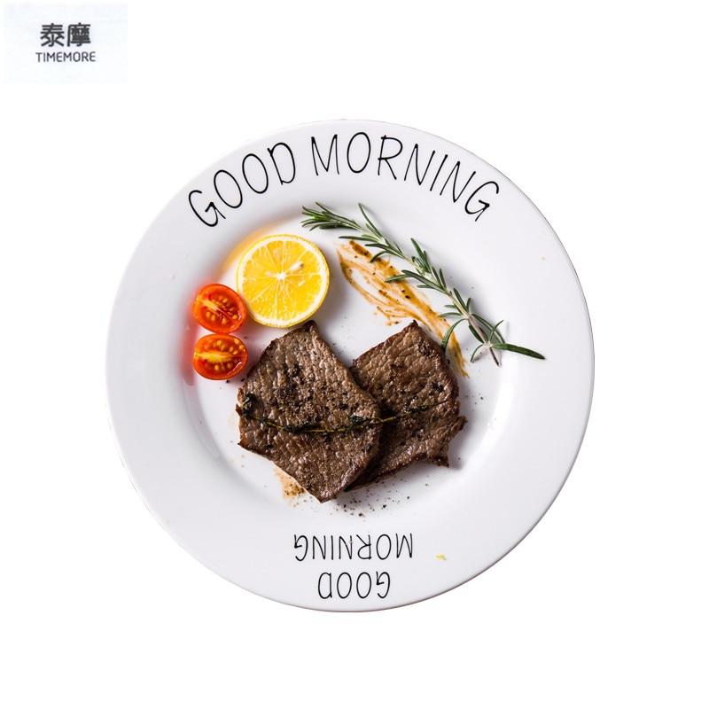 Letter Plate Lovely Dishes Breakfast Plates Ceramic Dish