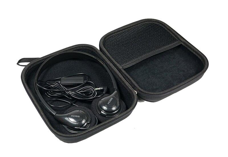 Купить с кэшбэком V-MOTA PXC headset Carry case box For MOTO HT820/DELL BH200/Sennheiser PC230/PC140/PC146/PMX60/PMX200/PMX685i/PMX686G headphone
