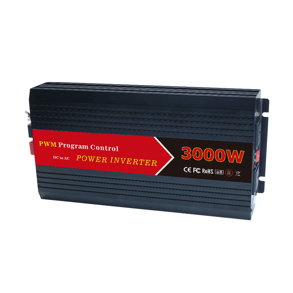 W3000 PWM 3000W DC 12V 24V to AC 110V 220V control off grid power inverter