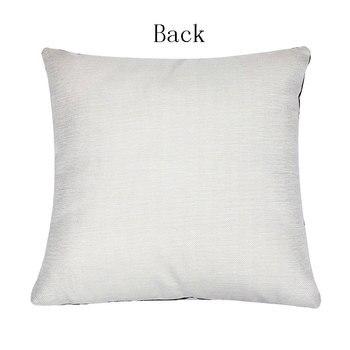 1Pcs Crown Letter 43*43cm Cotton Linen Throw Pillow Cushion Cover Car Home Decoration Sofa Decor Decorative Pillowcase 40166 1