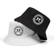 2909fb5b55f382 2018 new women men fisherman sad boy bucket hat hip hop navy white black  red sadboy