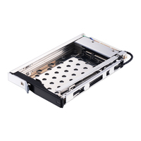 Uneatop ST8213 2 5 zoll SATA HDD/SSD Mobile Rack Gehäuse Lock-design