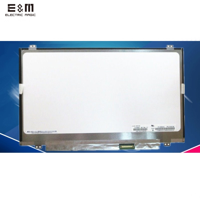 E&M 14 Inch 1366*768 LCD Haier S400 7G-5H 7G-5S/3S T400 X1T R410G 7G-2/3/U IPS Display Screen Diy Repair Laptop PC Notebook