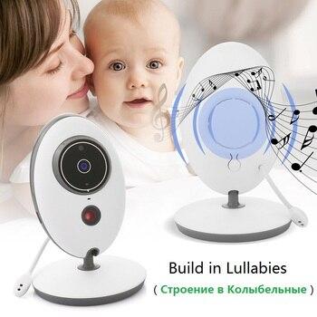 BabyKam 2.4GHz Wireless Baby Monitor VB601 Upgraded Infant Eletronic Babysitter Digital Baby Camera Temperature Display Monitor 4